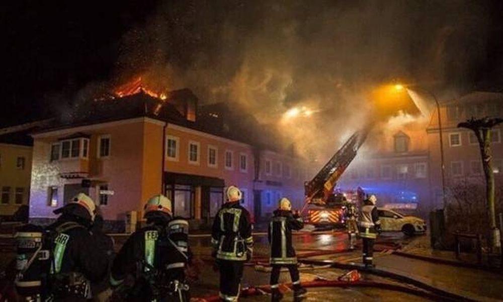 Γερμανία: Βαριές ποινές για ακροδεξιούς που πυρπόλησαν ξενώνα προσφύγων