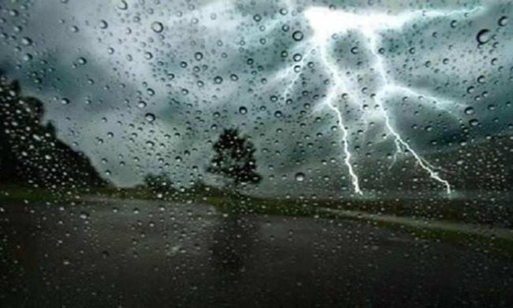 Έκτακτο δελτίο επιδείνωσης καιρού – Έρχονται ισχυρές καταιγίδες, χαλάζι και θυελλώδεις άνεμοι