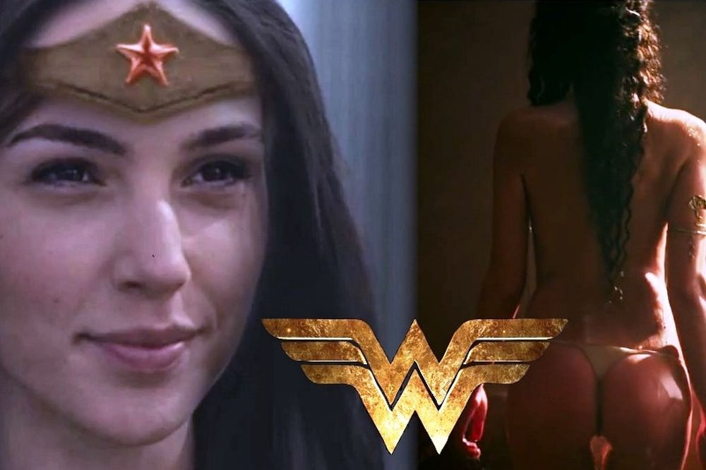 Ποιος Batman και ποιος Superman; Η Wonderwoman! (photos+video)