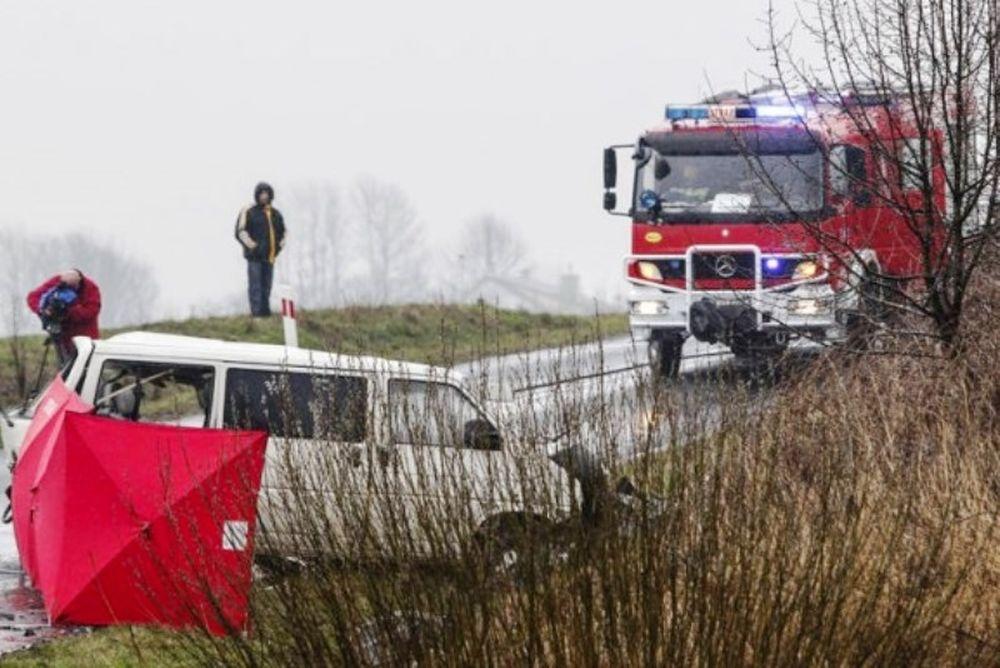 Τραγωδία στην άσφαλτο με τέσσερις νεκρούς ποδοσφαιριστές