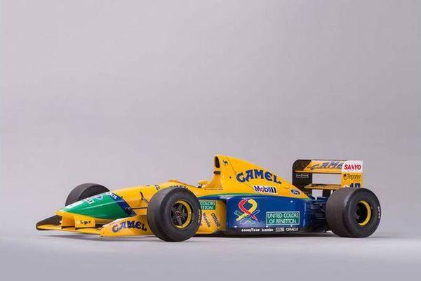 Πόσο πωλείται η πρώτη Benetton - Ford του Schumacher;