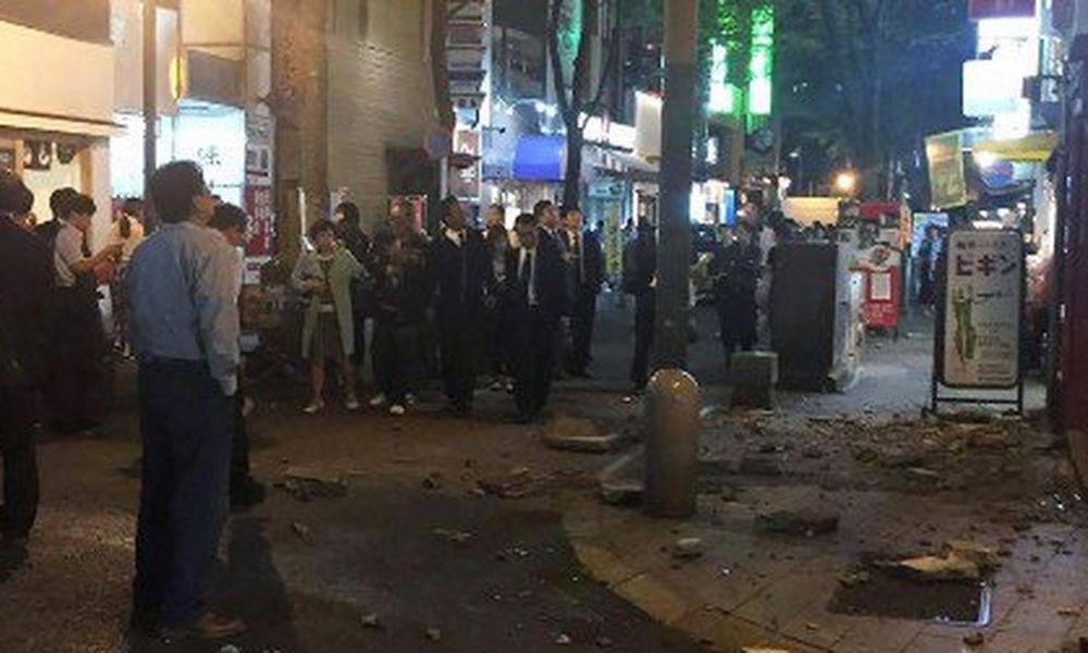 Νέος ισχυρός σεισμός 7 Ρίχτερ στην Ιαπωνία