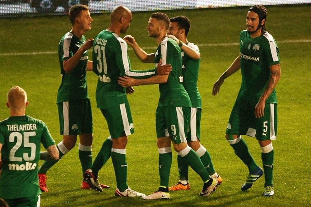 Παναθηναϊκός - Πανθρακικός 6-1: Τα γκολ του αγώνα (video)