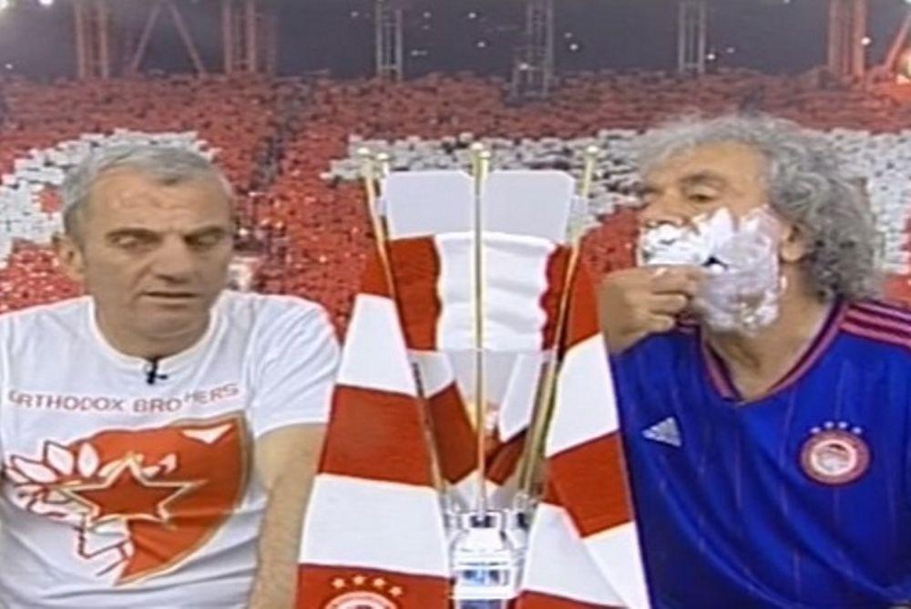 ΕΠΙΚΟ! Ο Τάκης Τσουκαλάς ξυρίστηκε on air με την κούπα! (videο)
