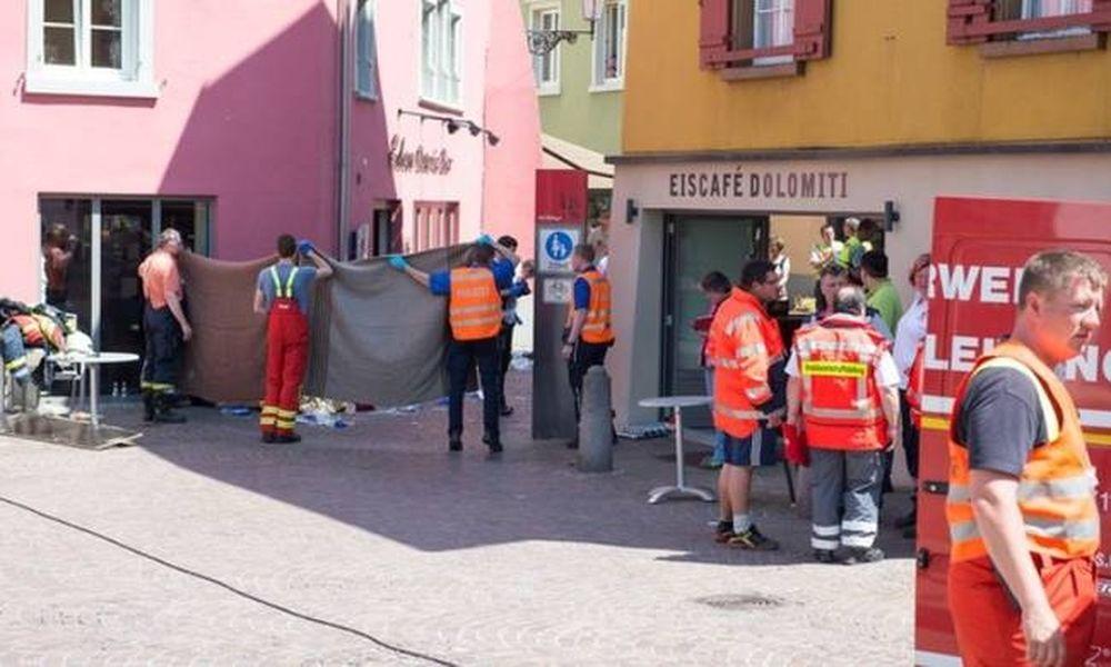 Τρόμος στη Γερμανία: Αυτοκίνητο «θέρισε» τους θαμώνες υπαίθριας καφετέριας (Pics)