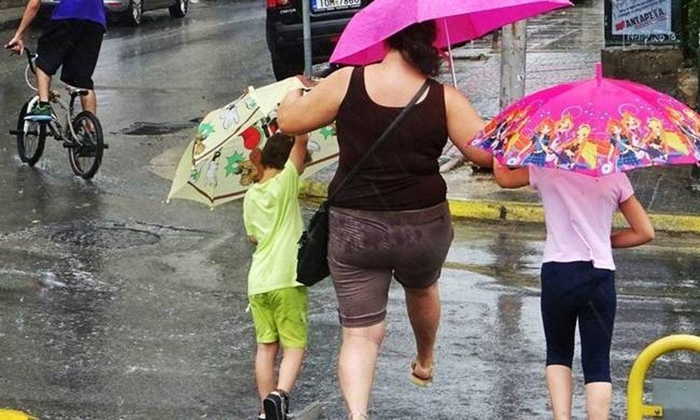 Καιρός: Το καλοκαίρι αγνοείται… Με βροχές και καταιγίδες θα κυλήσει η Πέμπτη
