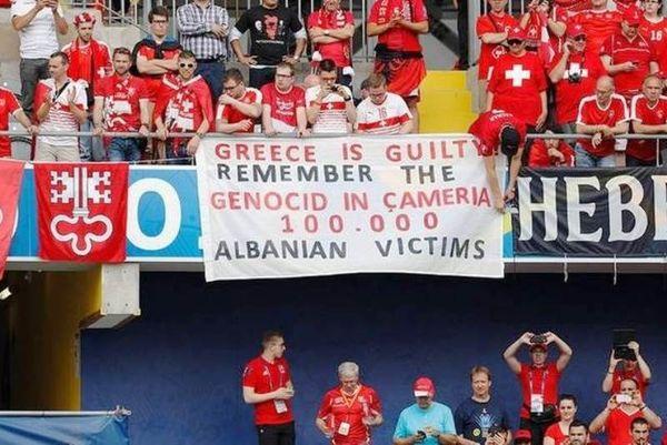Διπλωματικό επεισόδιο Ελλάδας-Αλβανίας από αλβανική πρόκληση στο Euro 2016