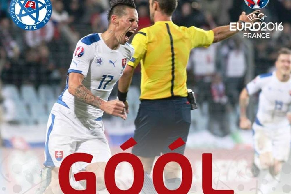 Euro 2016: Οι γκολάρες της Σλοβακίας! (videos)