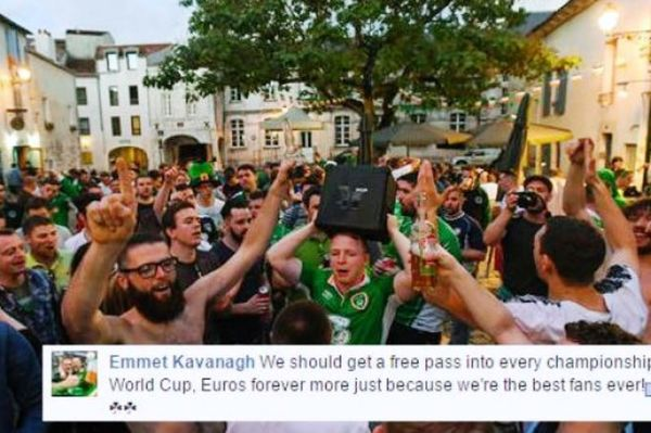 Euro 2016: Υποψήφιοι για Νόμπελ οι οπαδοί της Ιρλανδίας! (video)