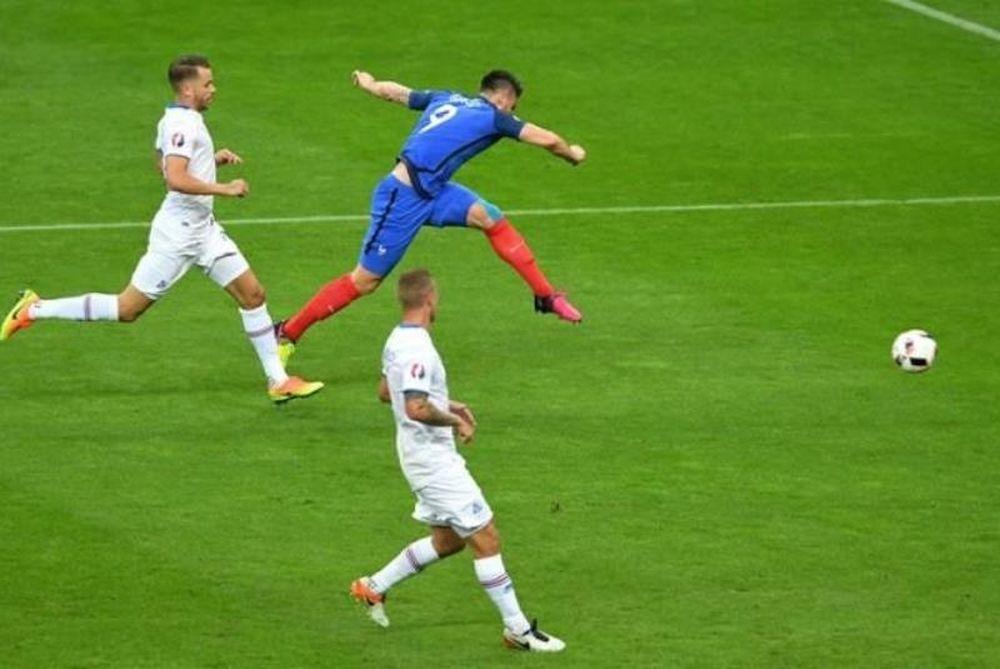 Euro 2016: Το κάρφωσε ο Ζιρού! (video)