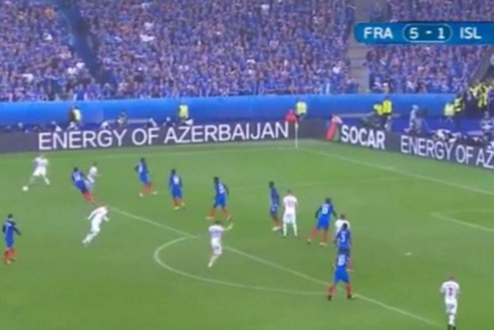 Euro 2016: Δεν το βάζει κάτω η Ισλανδία!(video)