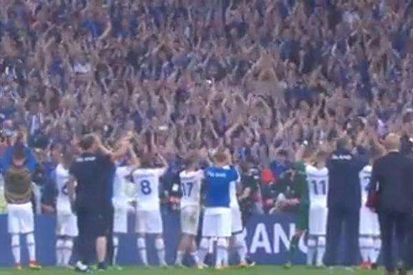 Euro 2016: Η τελευταία κραυγή των Ισλανδών «γκρέμισε» το «Σταντ ντε Φρανς» (video)