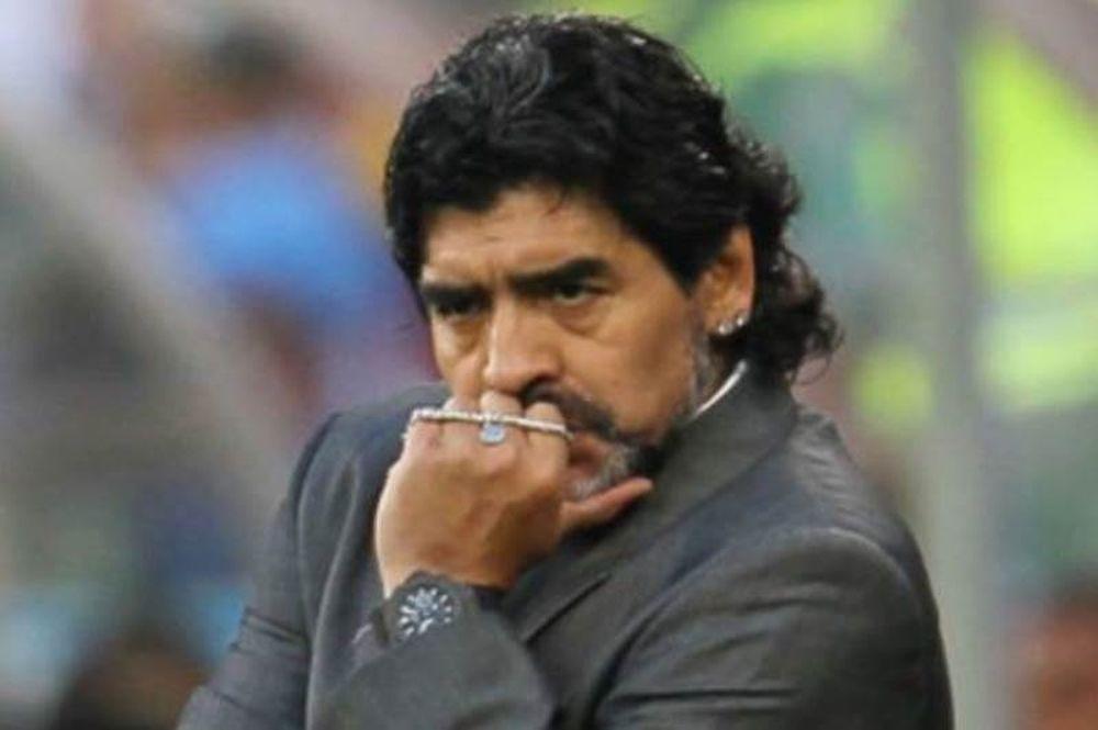 Έξαλλος με Εθνική Αργεντινής ο Μαραντόνα!