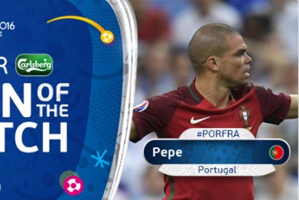 Euro 2016: MVP του τελικού ο Πέπε! (photo)