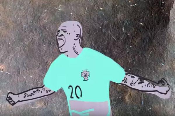 Euro 2016: Οι καλύτερες στιγμές σε κινούμενα σχέδια και με πολύ χιούμορ! (video)