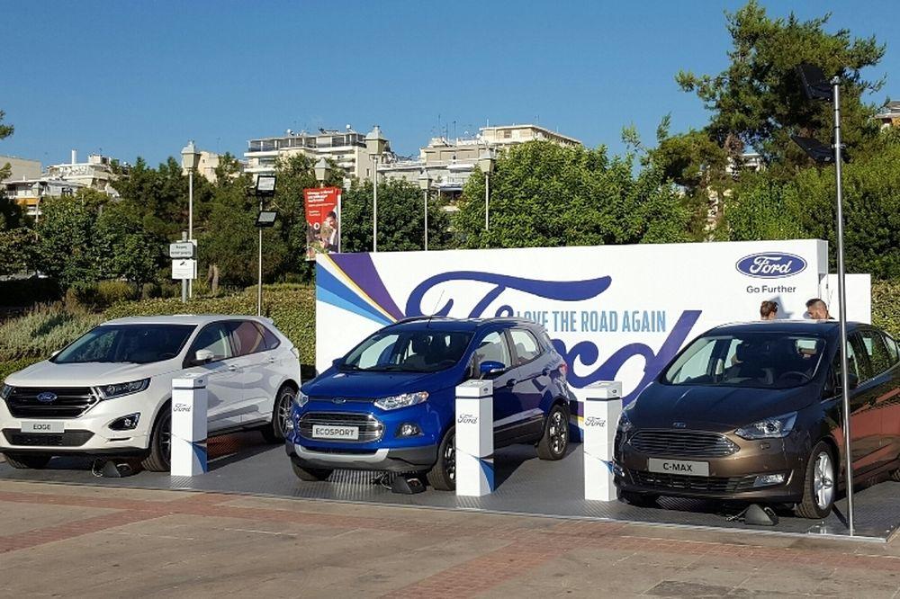 Το νέο Ford Edge κάνει ντεμπούτο στη Μαρίνα Φλοίσβου