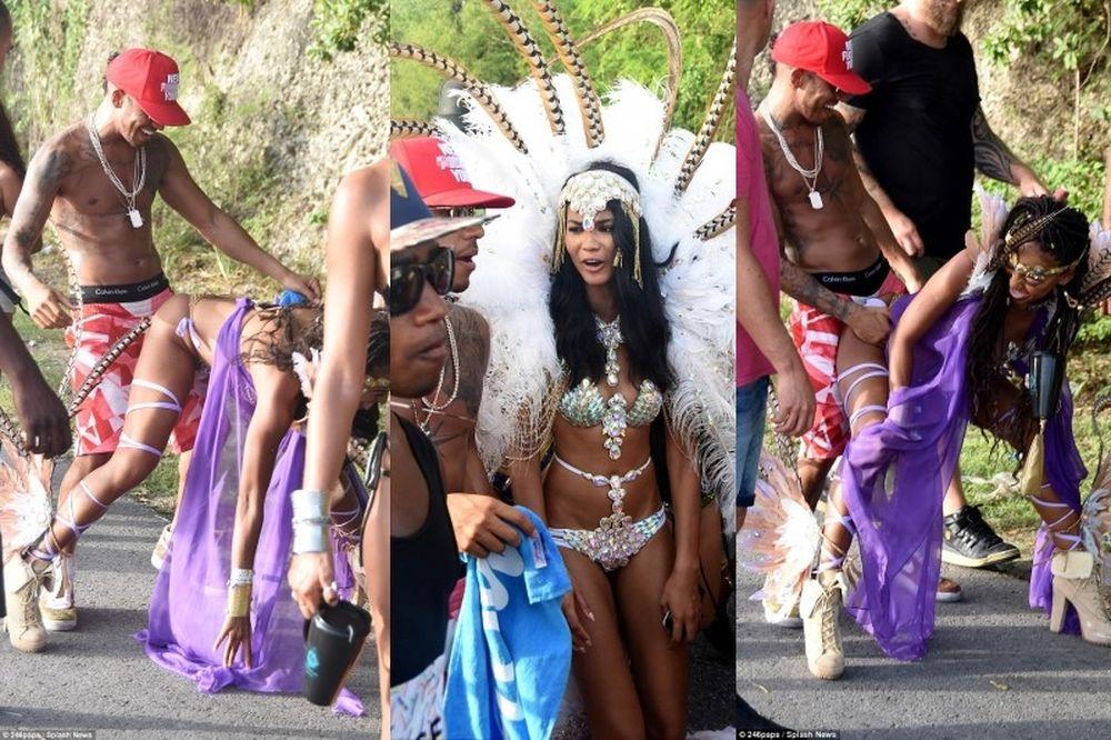 Όργια… Χάμιλτον με καυτό supermodel στα Μπαρμπέιντος! (photos)