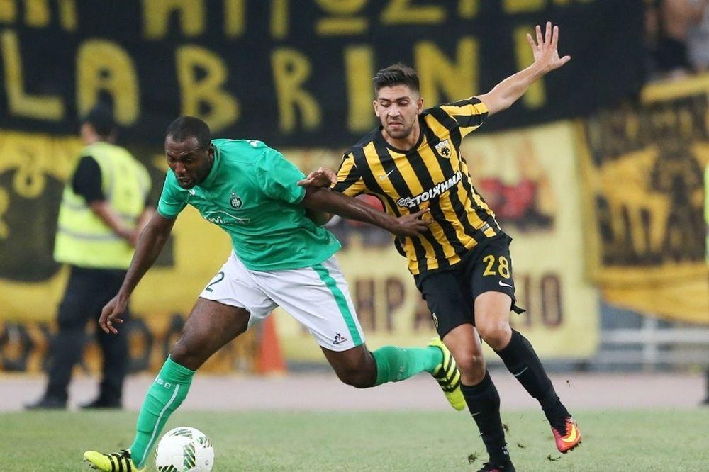 ΑΕΚ-Σεντ Ετιέν 0-1: Έμεινε με το χειροκρότημα!