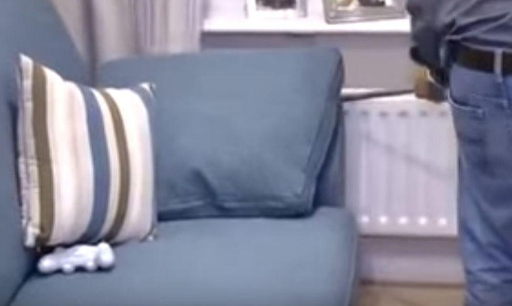 Άκουγαν περίεργους ήχους πίσω από τον καναπέ - Όταν αντίκρισαν τι κρυβόταν… τα έχασαν (video)