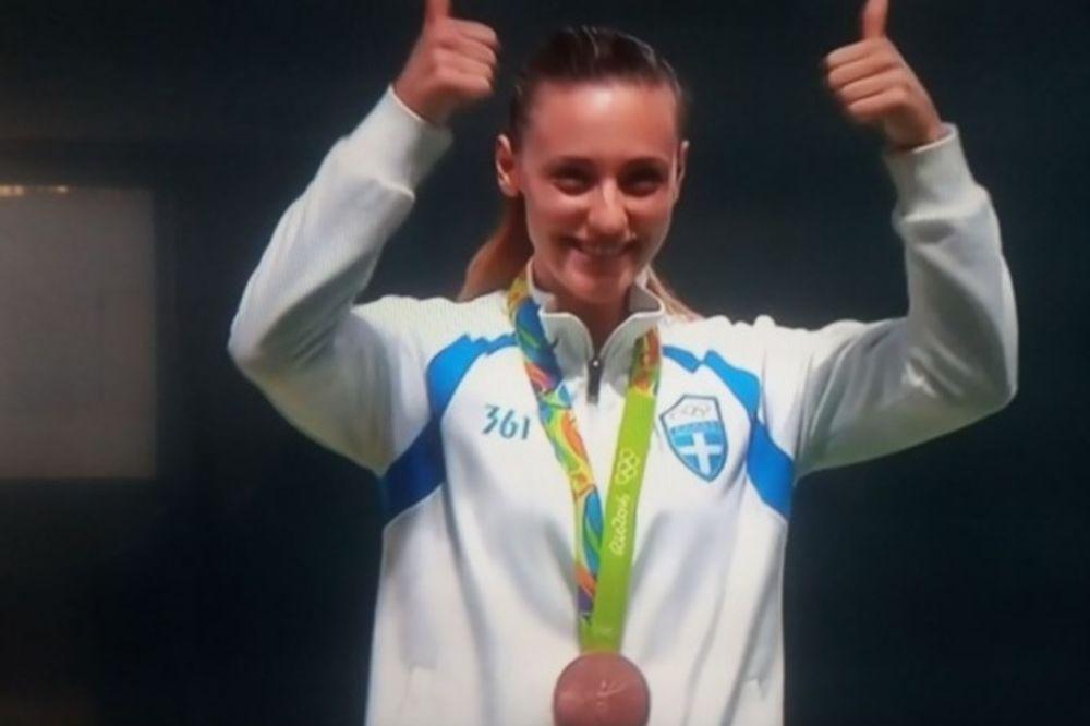 Ολυμπιακοί Αγώνες 2016: Η Άννα Κορακάκη σημάδεψε... χάλκινο στο Ρίο! (video)