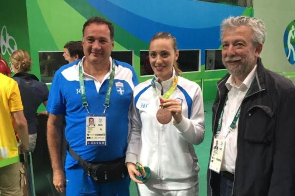 Ρίο 2016: Κοντονής: «Ιστορικό το μετάλλιο της Κορακάκη»