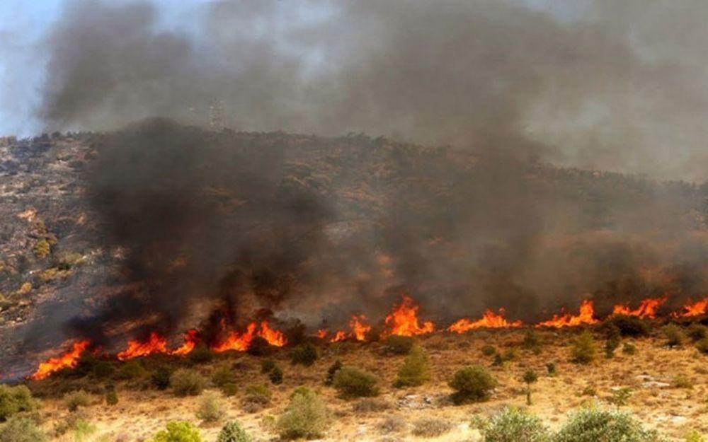 Πυρκαγιά στους Θρακομακεδόνες