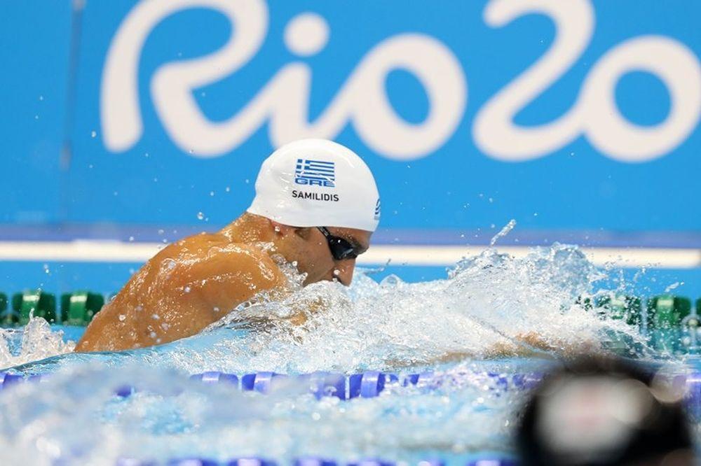 Ρίο 2016: Εκτός ημιτελικών στα 200μ. πρόσθιο οι Σαμιλίδης και Κουλούρης