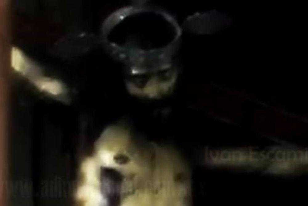 Απόκοσμο βίντεο: Άγαλμα του Ιησού ανοίγει τα μάτια του μέσα σε εκκλησία (video)