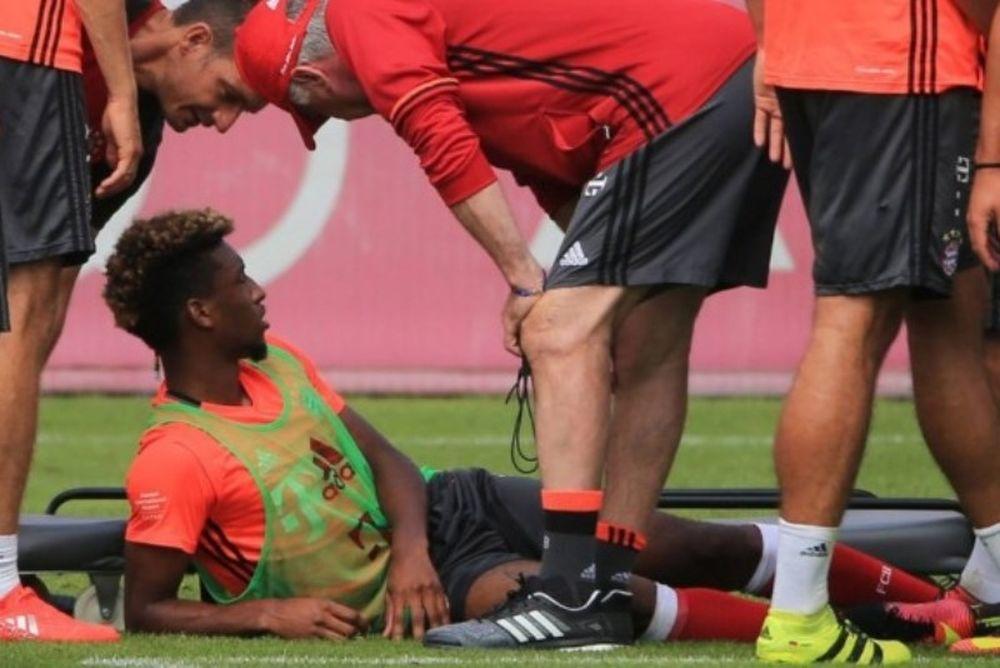 Σοβαρός τραυματισμός για Κομάν! (video)
