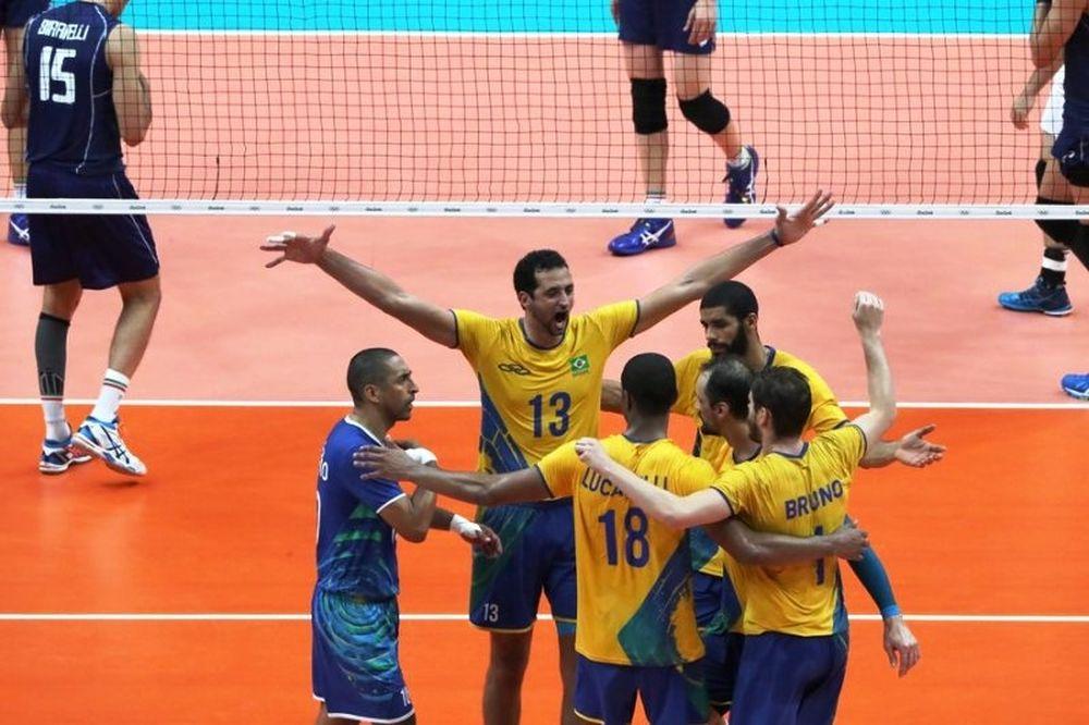 «Χρυσή» η Βραζιλία, 3-0 την Ιταλία
