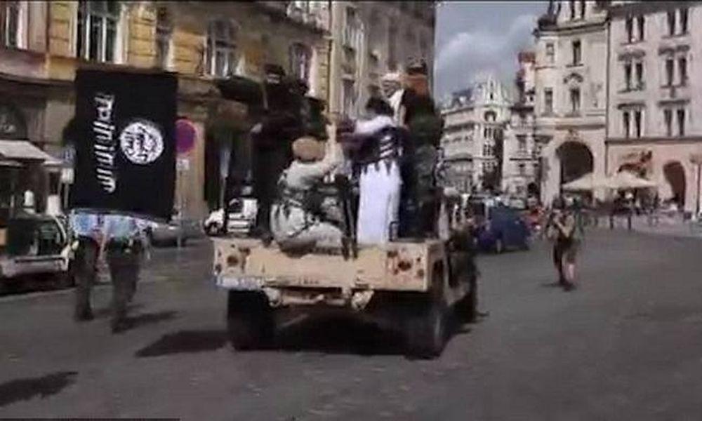 «Τζιχαντιστές» έσπειραν τον τρόμο στο κέντρο της Πράγας (pics+vid)