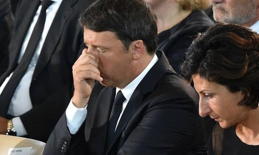 Σεισμός Ιταλία: Θρήνος στην τελετή των 35 πρώτων θυμάτων του εγκέλαδου (photo)