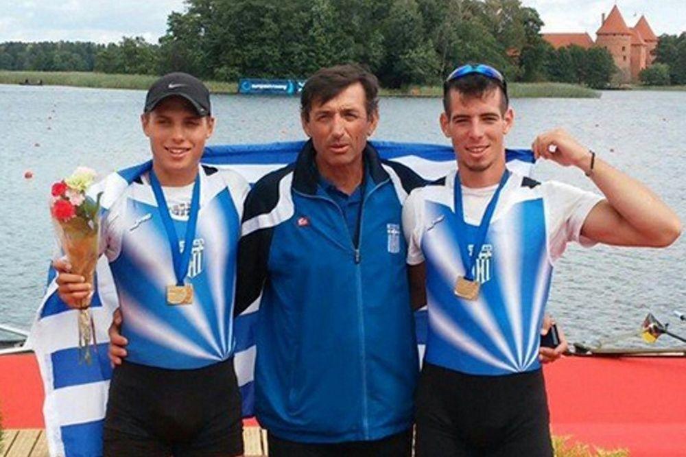 Χρυσά κουπιά: Παγκόσμιοι πρωταθλητές Καλανδαρίδης-Νικολαϊδης!