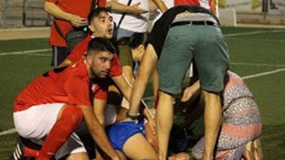 Διαιτητής έσωσε ποδοσφαιριστή από βέβαιο θάνατο