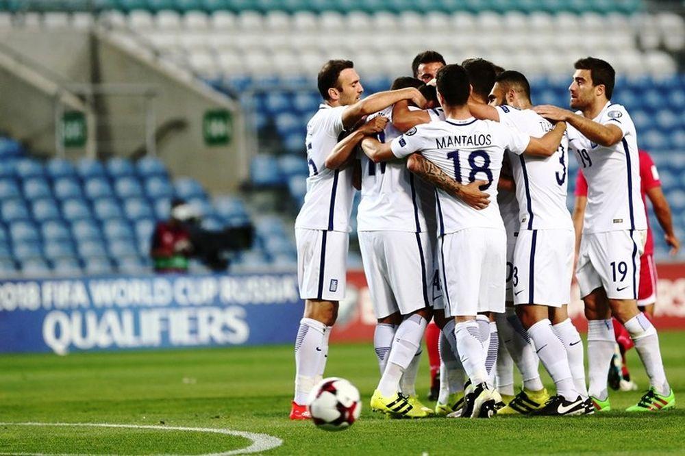 Γιβραλτάρ – Ελλάδα 1-4: Με τρίλεπτο ξέσπασμα (photos)