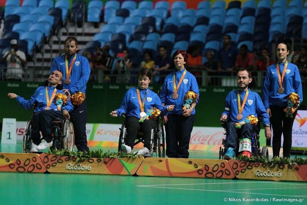 Σαρώνουν τα μετάλλια οι Έλληνες αθλητές στους Παραολυμπιακούς του Ρίο
