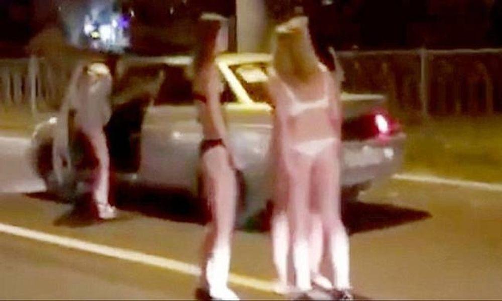 Ρωσίδες ξεχύθηκαν με τα εσώρουχα στους δρόμους για να βρουν άντρα! (video)