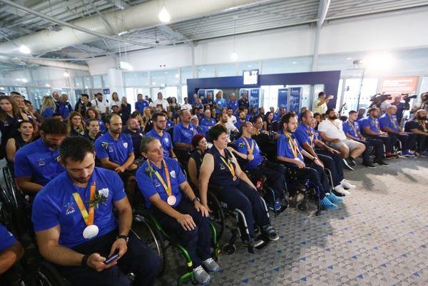 Παραολυμπιακοί Αγώνες: Στην Αθήνα η ελληνική αποστολή!