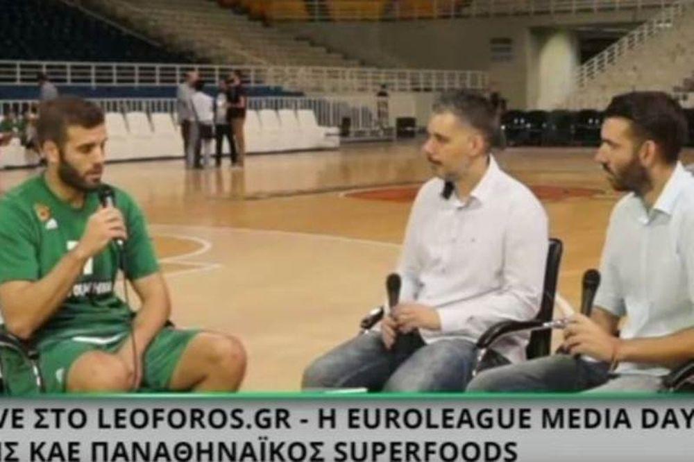 Η ζωντανή εκπομπή του Leoforos από το ΟΑΚΑ σε HD