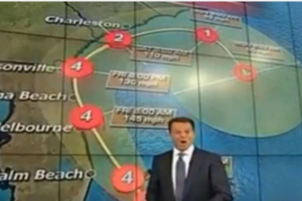 Παρουσιαστής του Fox: Ο τυφώνας Μάθιου θα σας σκοτώσει όλους! (video)