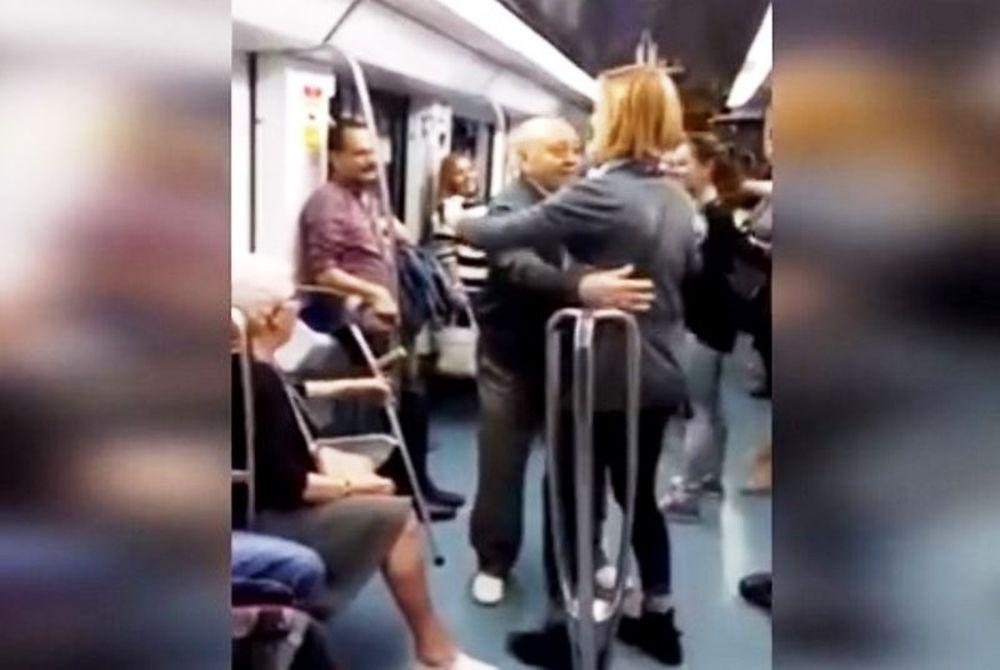 Τρομερός παππούς έκανε ένα τρένο να χορεύει! (video)