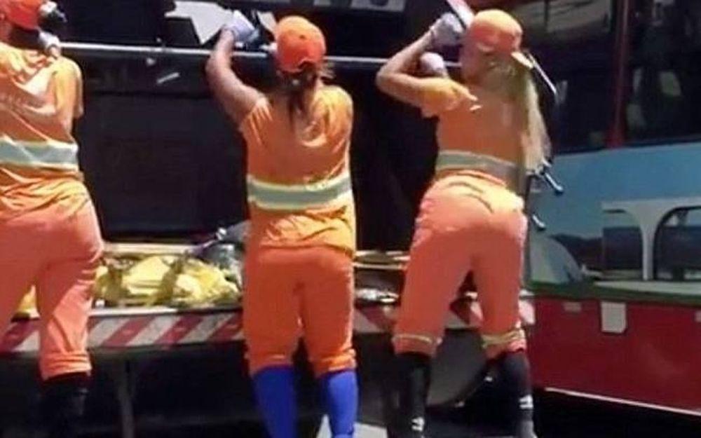 Καθαρίστριες κάνουν twerking και προκαλούν... «έμφραγμα»! (vid)