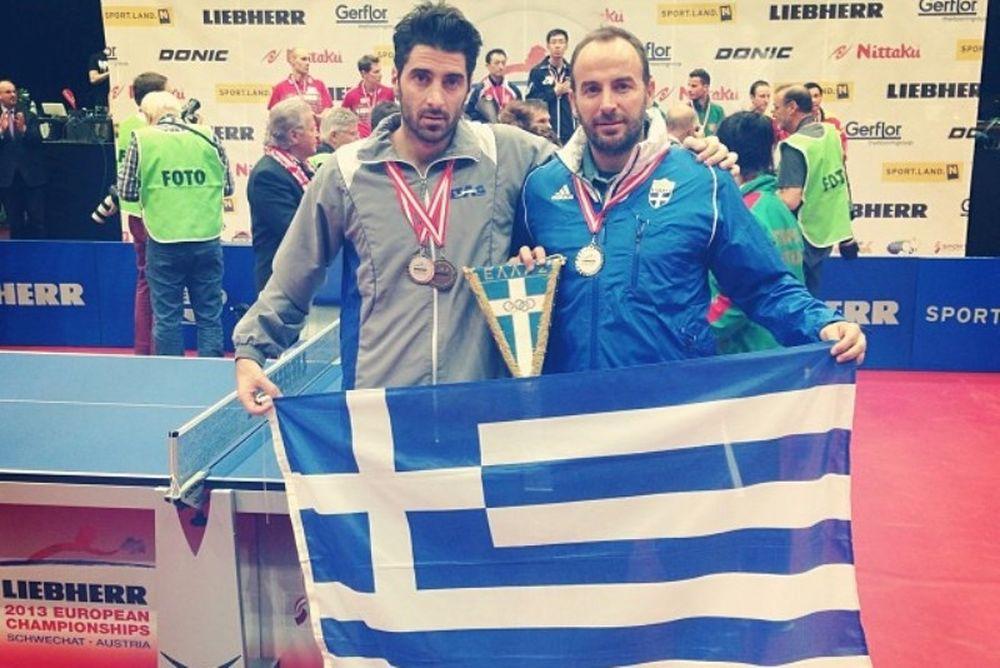 Πινγκ πονγκ: Τα ελληνικά μετάλλια στα Ευρωπαϊκά πρωταθλήματα