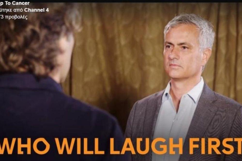 Δεν υπάρχει: Ο Μουρίνιο παίζει σε διαγωνισμό «ποιος θα γελάσει πρώτος»! (video)