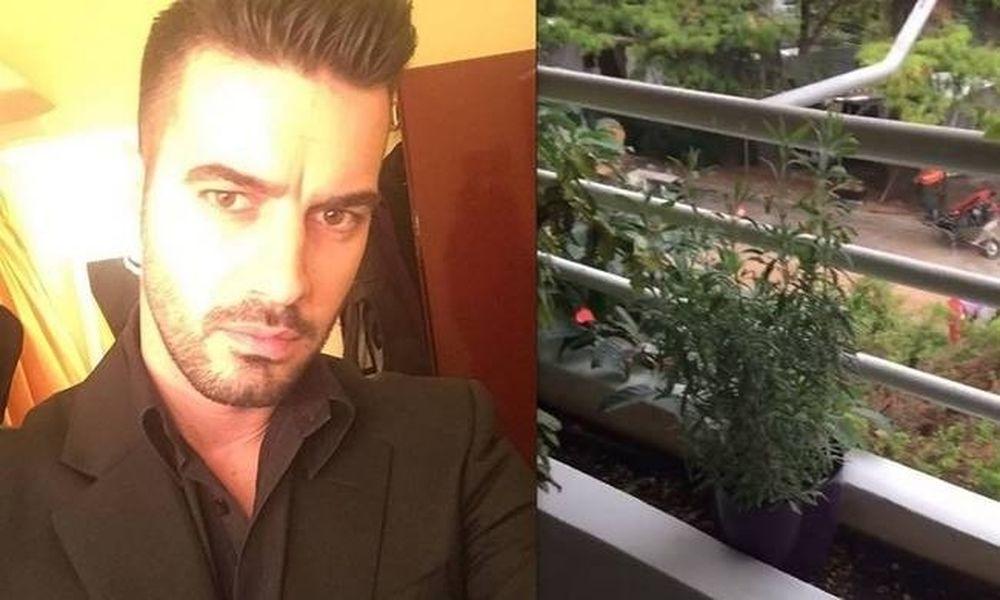 Γιάννης Τσιμιτσέλης: Δείτε τι έπαθε ενώ βγήκε στο μπαλκόνι του σπιτιού του να πιει τον καφέ του