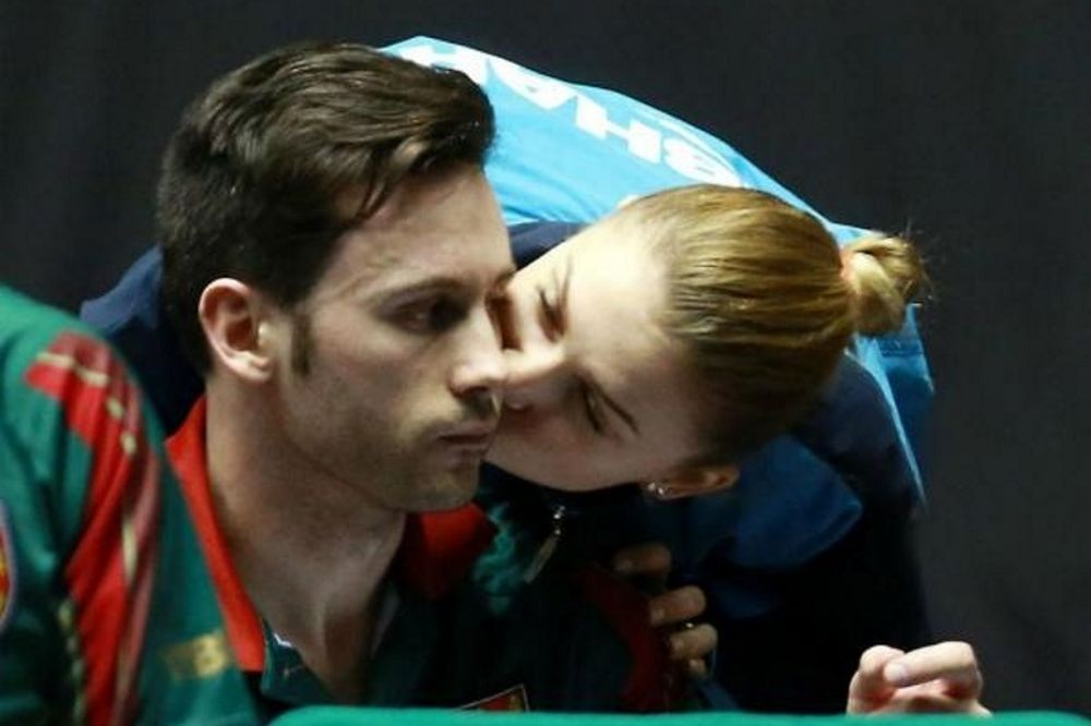 Ένα «χρυσό» αντρόγυνο στο Ευρωπαϊκό πρωτάθλημα πινγκ πονγκ!