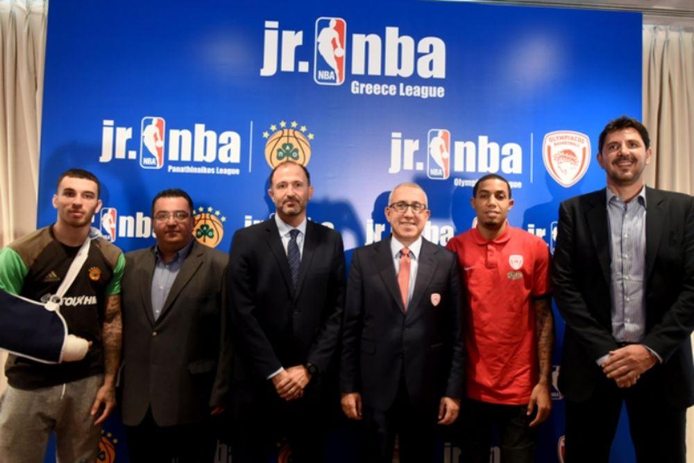 Το jr. NBA Basket League είναι γεγονός... (videos)