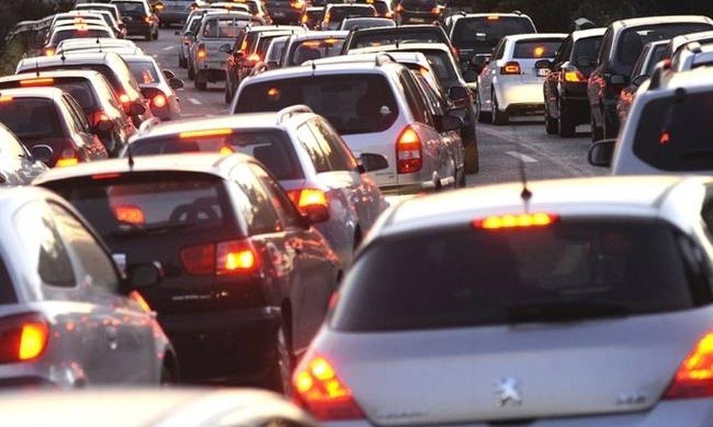 Κυκλοφοριακό «έμφραγμα» σε κεντρικές λεωφόρους της Αθήνας