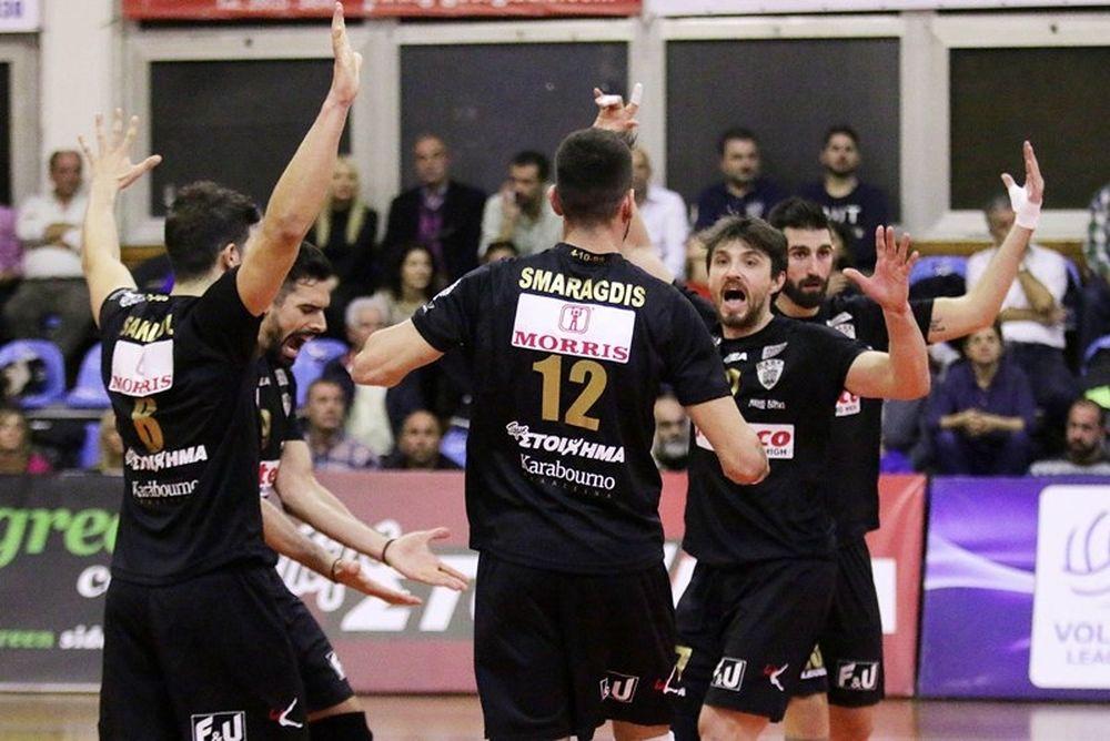 Volley League: Πρεμιέρα με το… δεξί για ΠΑΟΚ