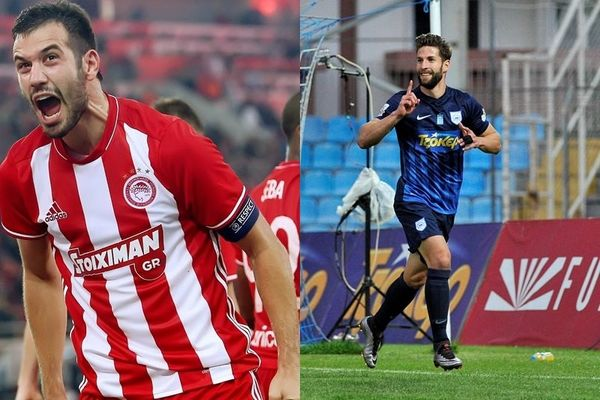 Super League: Μιλιβόγεβιτς και Γιάκος οι κορυφαίοι